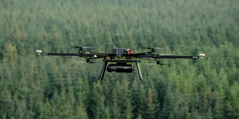 Unmanned Aerial Vehicles Forest Operations